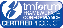 TM Forum Conformance Certified Product logo